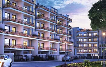 2 BHK Floor for Sale in Flower Valley Cerise Floors