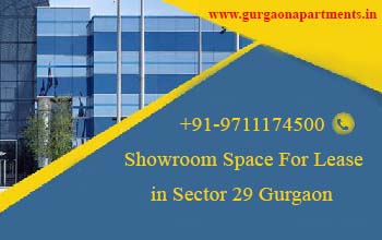 Showroom Space For Lease in Sector 29 Gurgaon