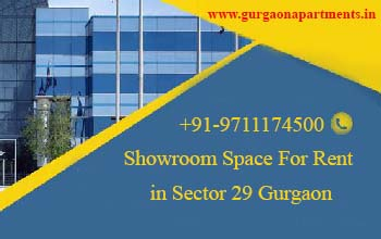 Showroom Space For Rent in Sector 29 Gurgaon